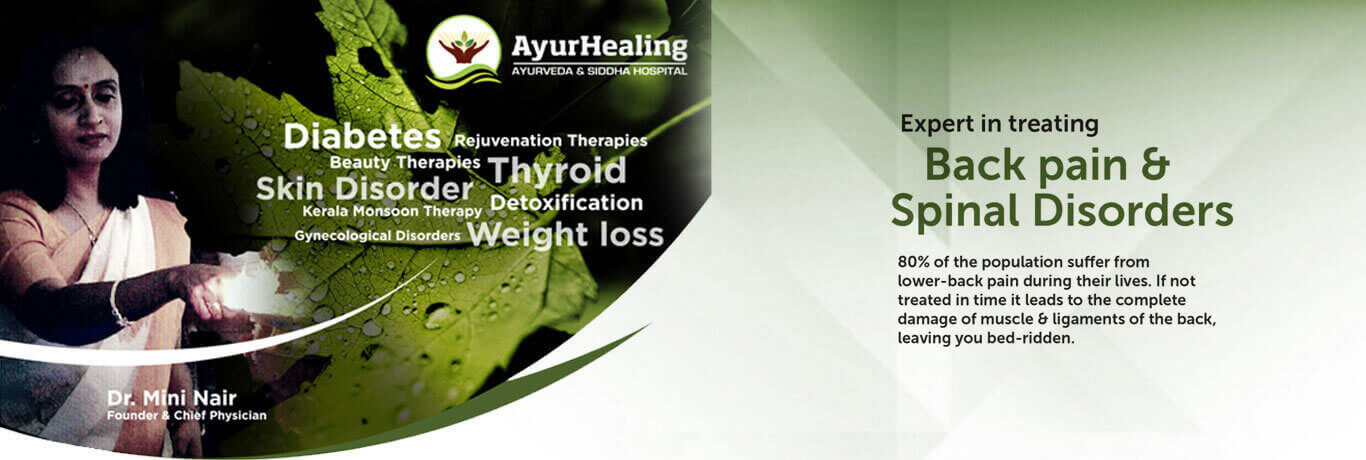 Ayurhealing - Ayurveda treatment for Backpain